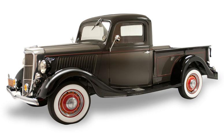1936 Ford Pick ... Pressed Steel Car