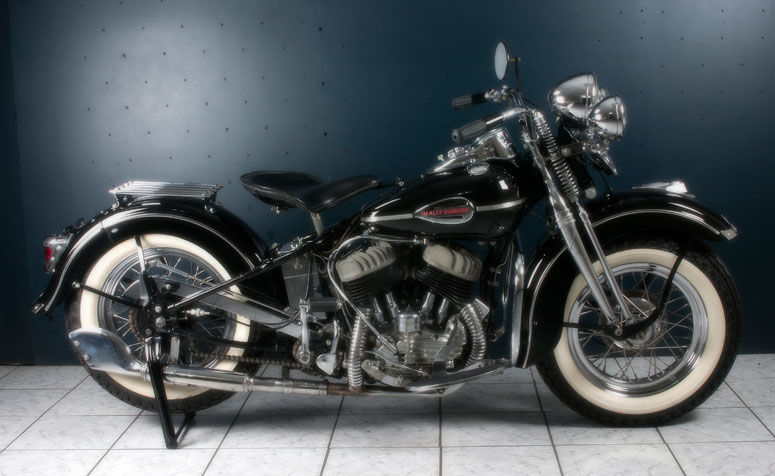 Harley Flh Frame