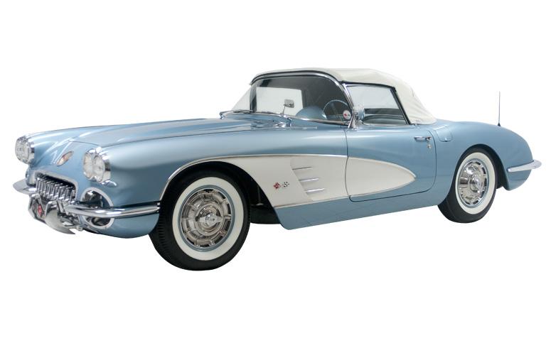 1960 Chevrolet Corvette  Classic Car Collection  Mario
