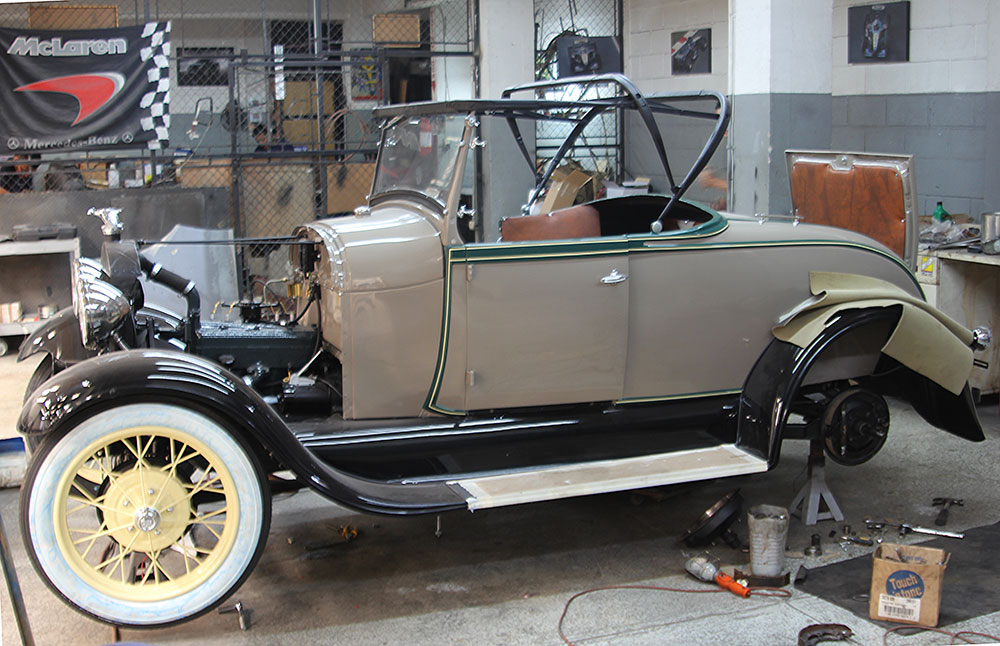 1929 Ford Roadster Model A Almost Done Classic Car